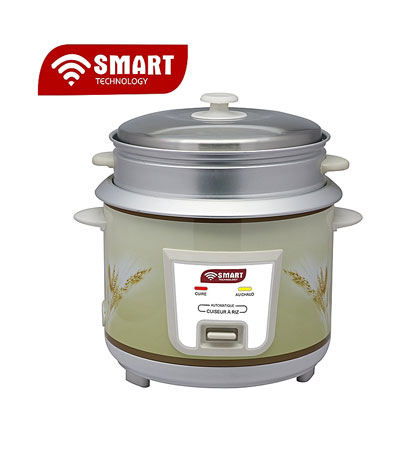 Cuiseur De RIZ - SMART TECHNOLOGY STPE-1722R / 2.2 Ltr
