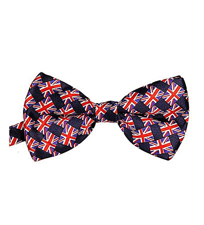 Fohting Men's Bow Tie Cotton Bowtie Wedding Party Butterfly Ties -Red