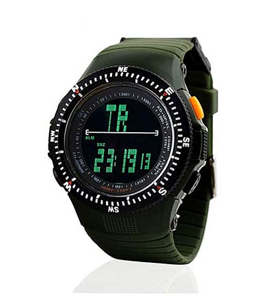 Multi-functional Outdoor Waterproof Shockproof Sports Watch